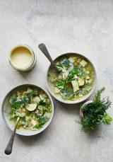 Clean-Green-Summer-Vegetable Soup