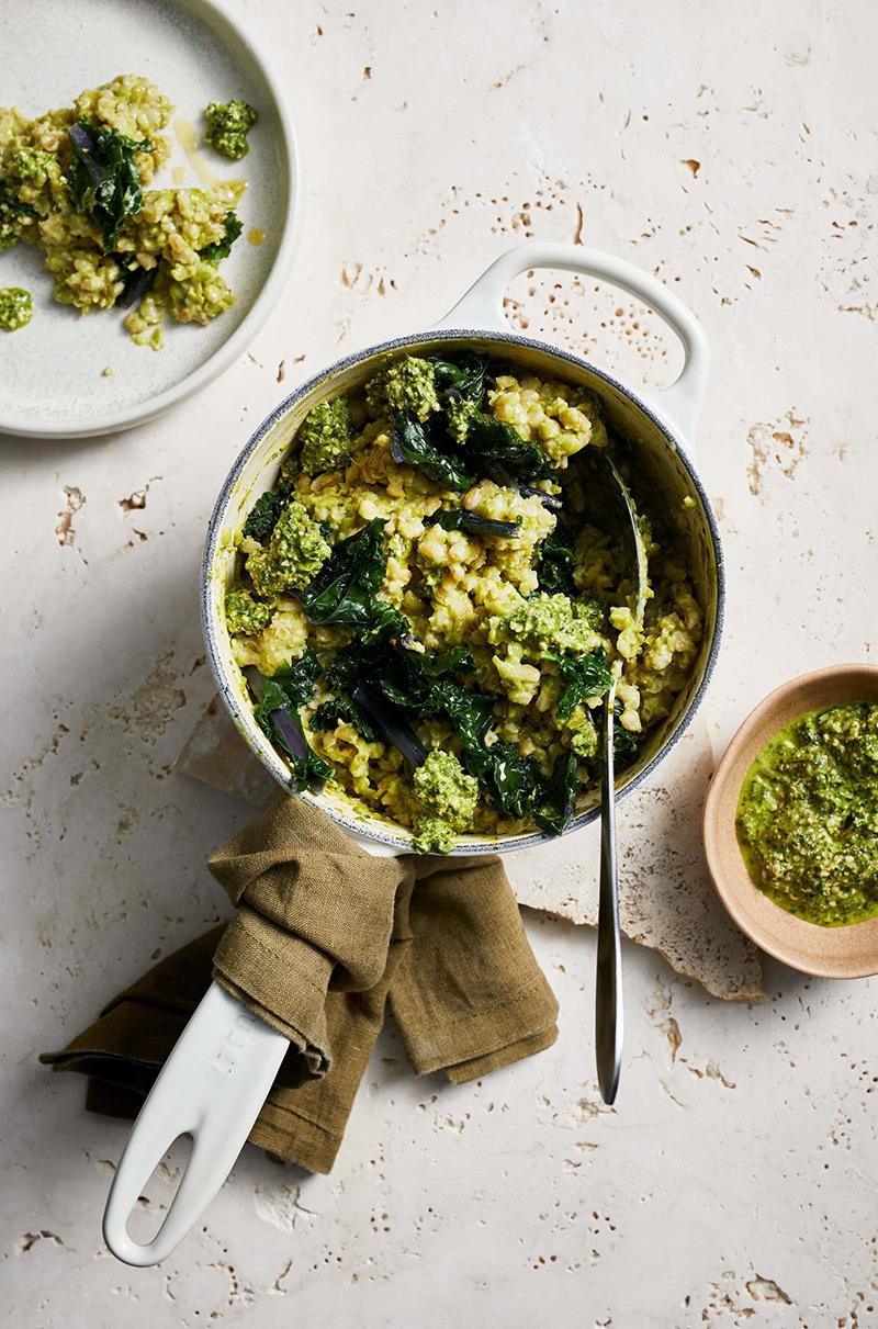 Almo-spinach-and-mint-pesto